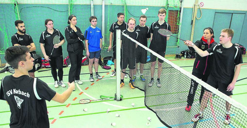 Badminton-Olympionikin Johanna Goliszewski gibt Schnuppertraining in Korbach