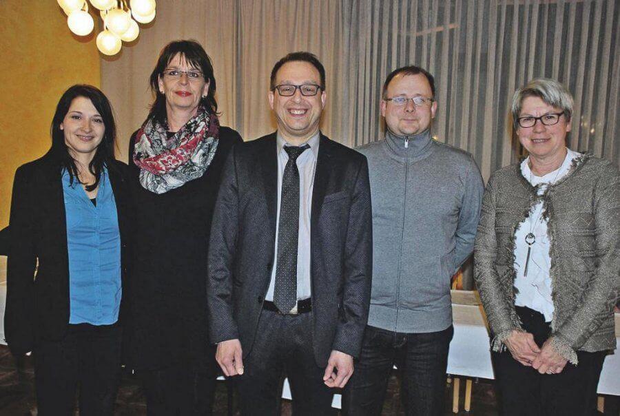 Vorstand und Geschäftsführung des TSV Korbach