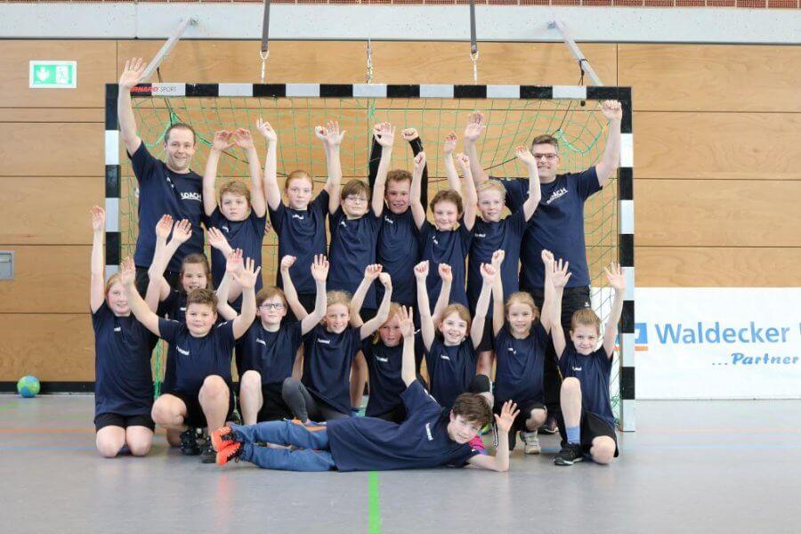 Handball E-Jugend des TSV Korbach