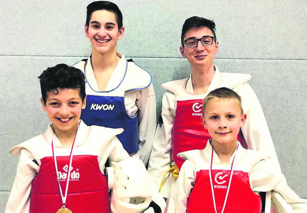 Hessencup-Sieger des TSV Korbach - Taekwondo