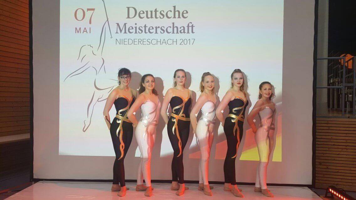 Twirlingsportlerinnen des TSV Korbach