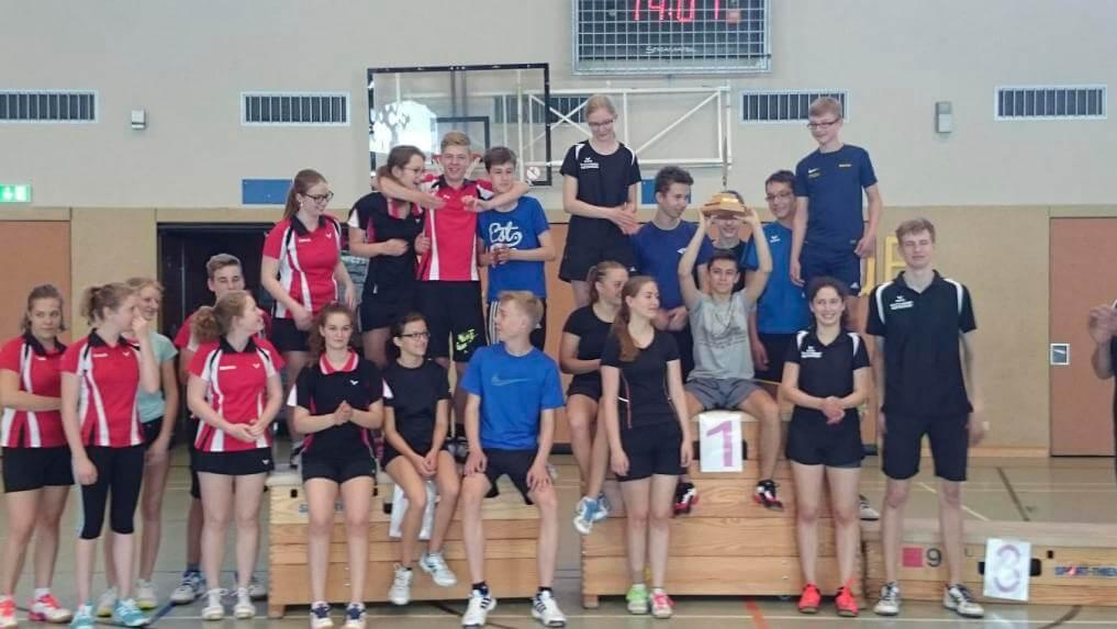 Badminton-Sportler des TSV Korbach