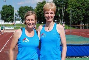 Marion Tenbusch und Diana Richter vomTSV Korbach