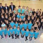 Rotary Club unterstützt Korbacher Twirlingsportler