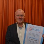 Ehrenmitglied des TSV Korbach - Hans Hilmman (78)