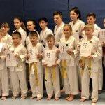 Taekwondo: Prüflinge 2018