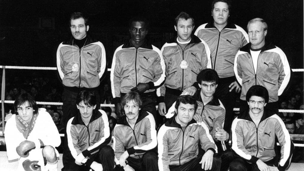 Boxstaffel des TV Korbach 1980