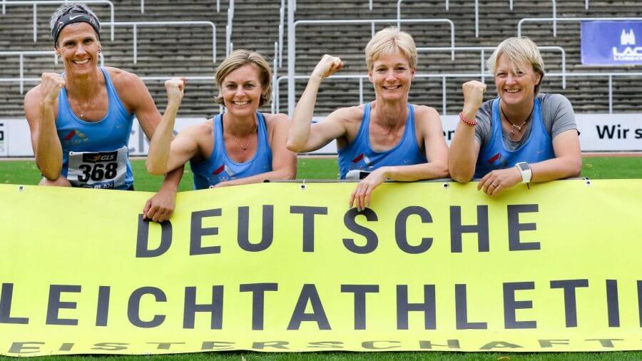 Deutsche Mannschaftsmeisterschaften Leichtathletik Team TSV Korbach