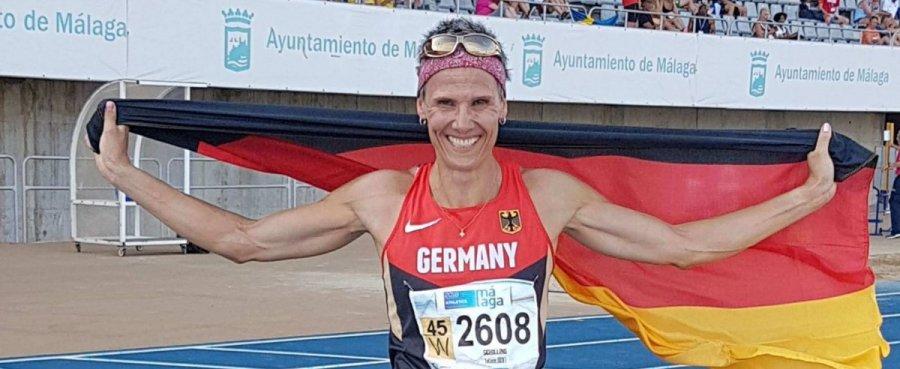 Senioren-Leichtathletik WM in Malaga 2018 - Tatjana Schilling