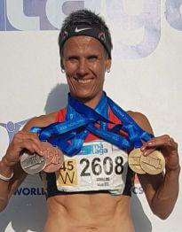 Senioren-Leichtathletik WM in Malaga - Tatjana Schilling