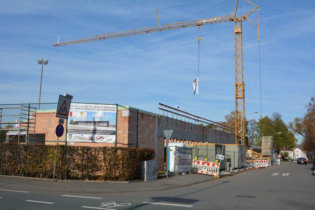 Richtfest: Herbert-Kuhaupt-Sportzentrum