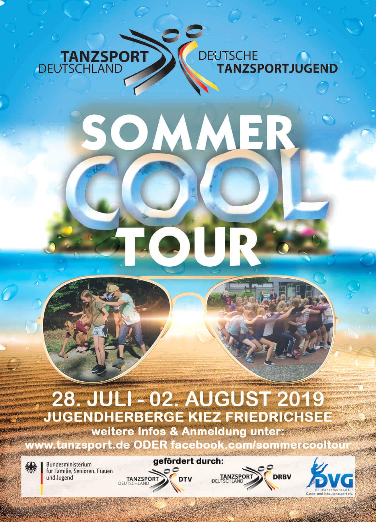 Sommer Cool Tour Plakat - Vorderseite