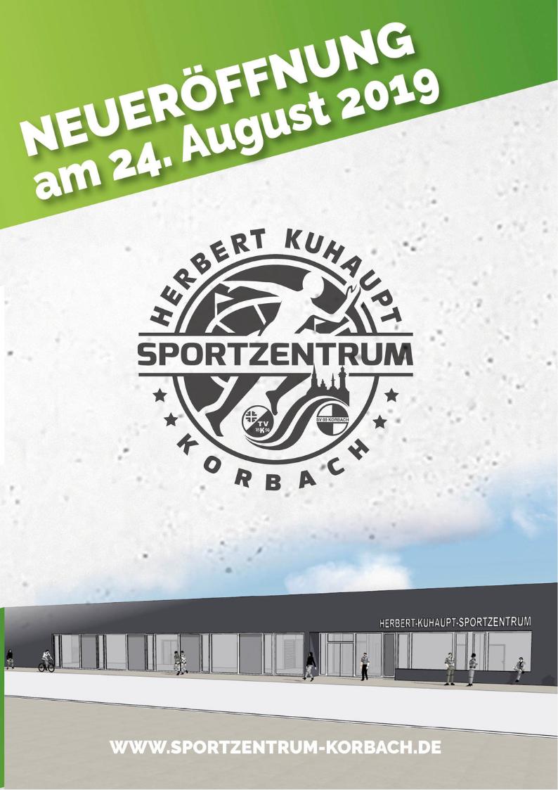 Eröffnung des Herbert-Kuhaupt-Sportzentrum