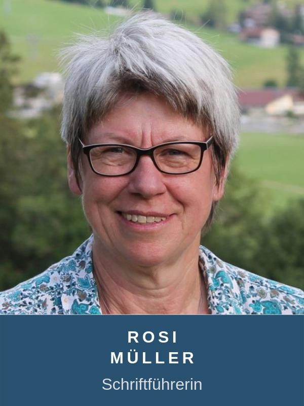 """Roselinde """"Rosi"""" Müller"""