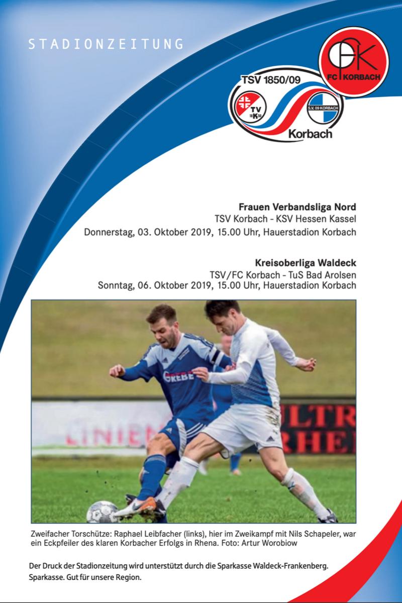 Stadionzeitung v. 03.10.2019
