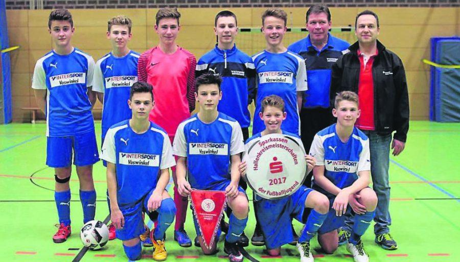 Futsal-Hallenmeister: C-Junioren des TSV Korbach