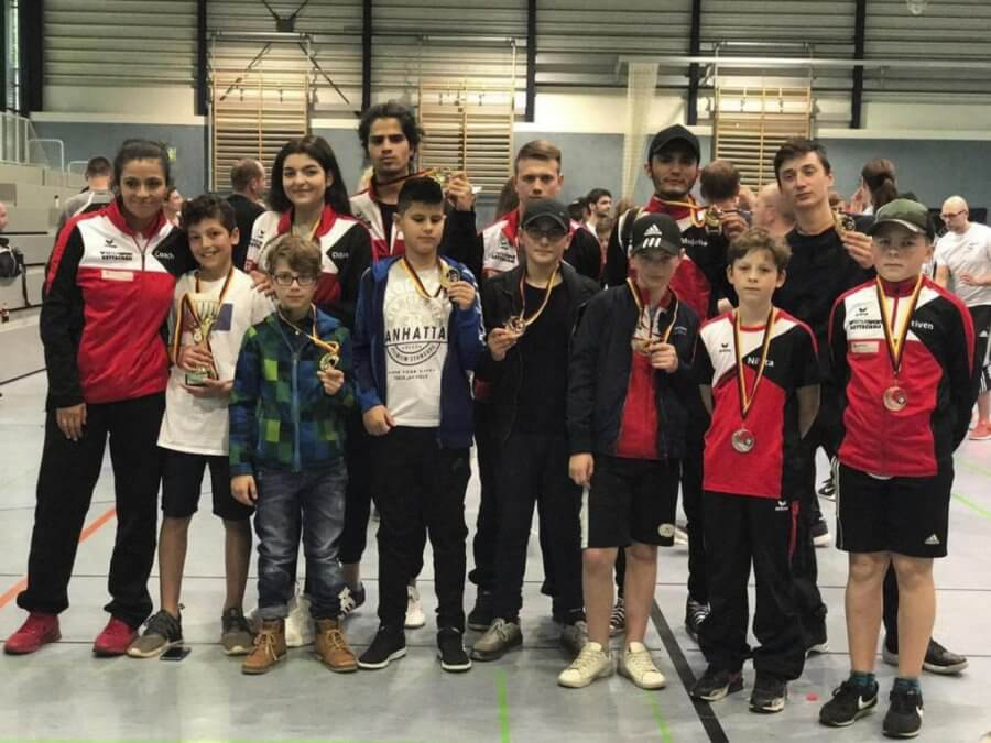 Taekwondo-Sportler des TSV Korbach